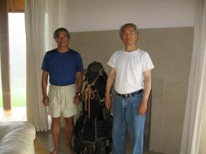 Mel Yoshioka and Tsutomu Oshima At Oshima Residence